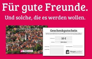 Foto des Geschenkgutschein der Leistungsgemeinschaft
