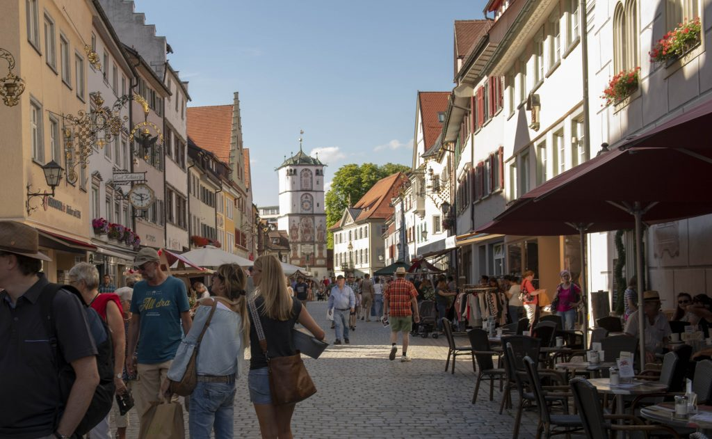 Herrenstraße in Wangen im Allgäu