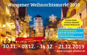Herrenstraße am Weihnachtsmarkt - Blick Richtung Frauentor Anzeige zum Weihnachtsmarkt